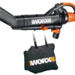 Deal – WORX WG505 Electric TriVac Leaf Blower/Mulcher/Vacuum & Metal Impeller $49.99