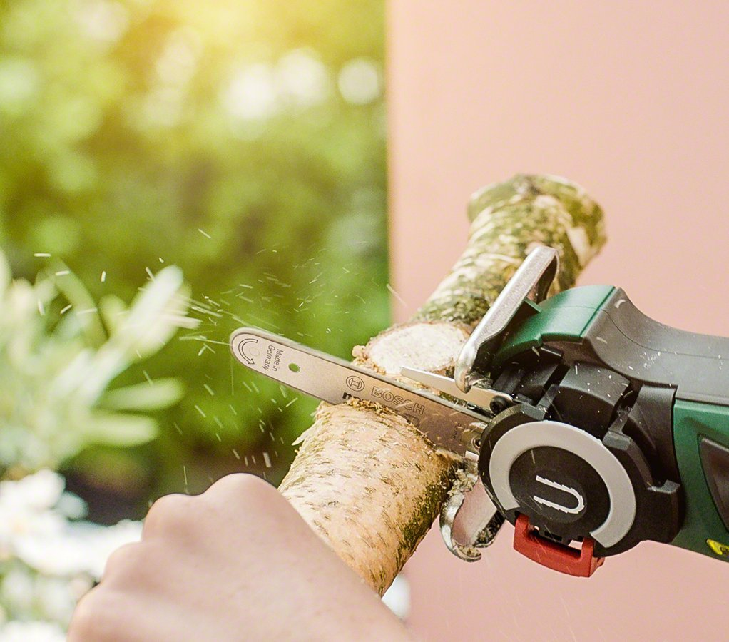 bosch nanoblade easycut 12 volt chainsaw - tool craze