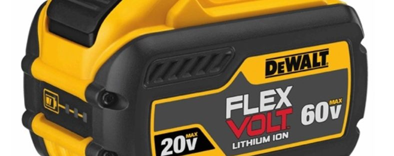 Dewalt Flexvolt 12.0 Ah DCB612 Battery Announced
