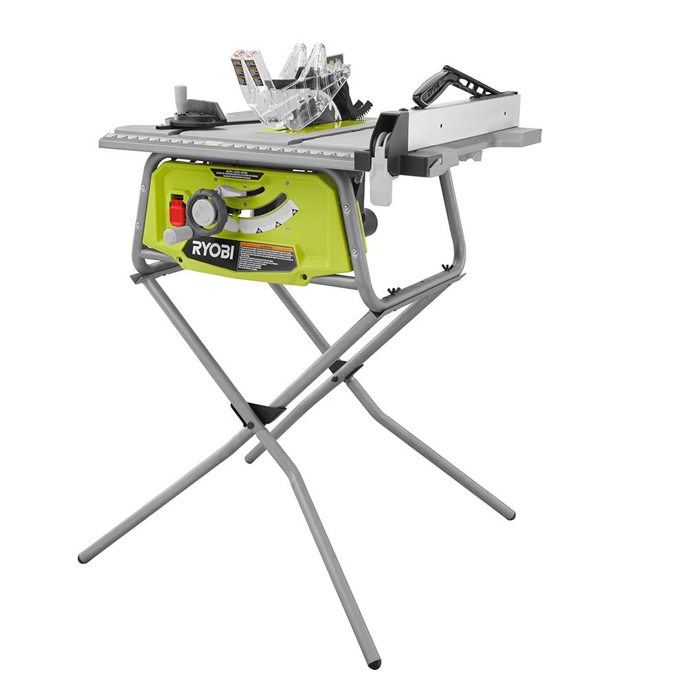 Ryobi Rts22 Roll Cage Frame Table Saw With Rolling Stand
