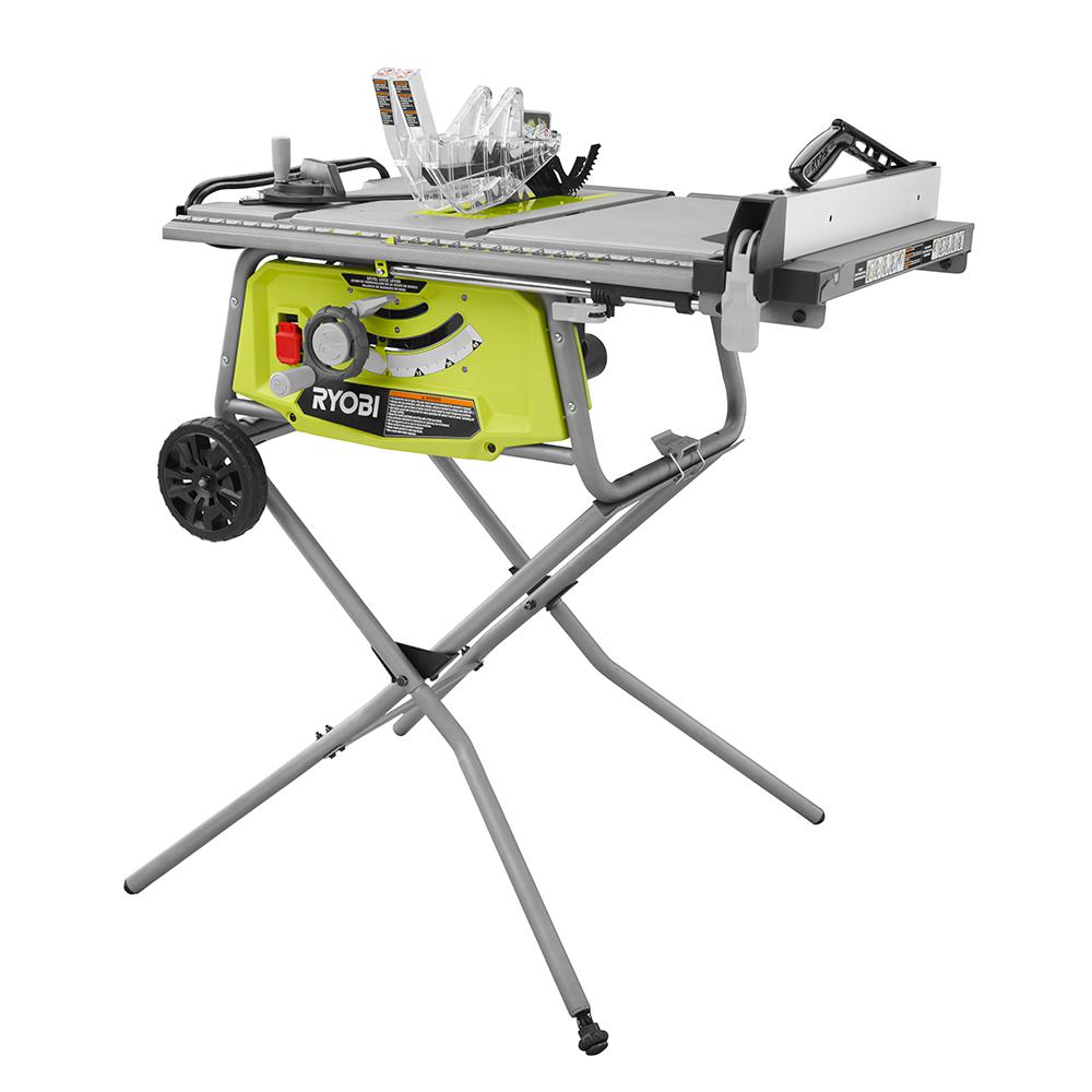 Comes Equipped With A 15 Amp Motor, Tool Less Outfeed Extension, Miter  Gauge, Anti Kickback Pawls, Blade Guards, Riving Knife And Push Stick.
