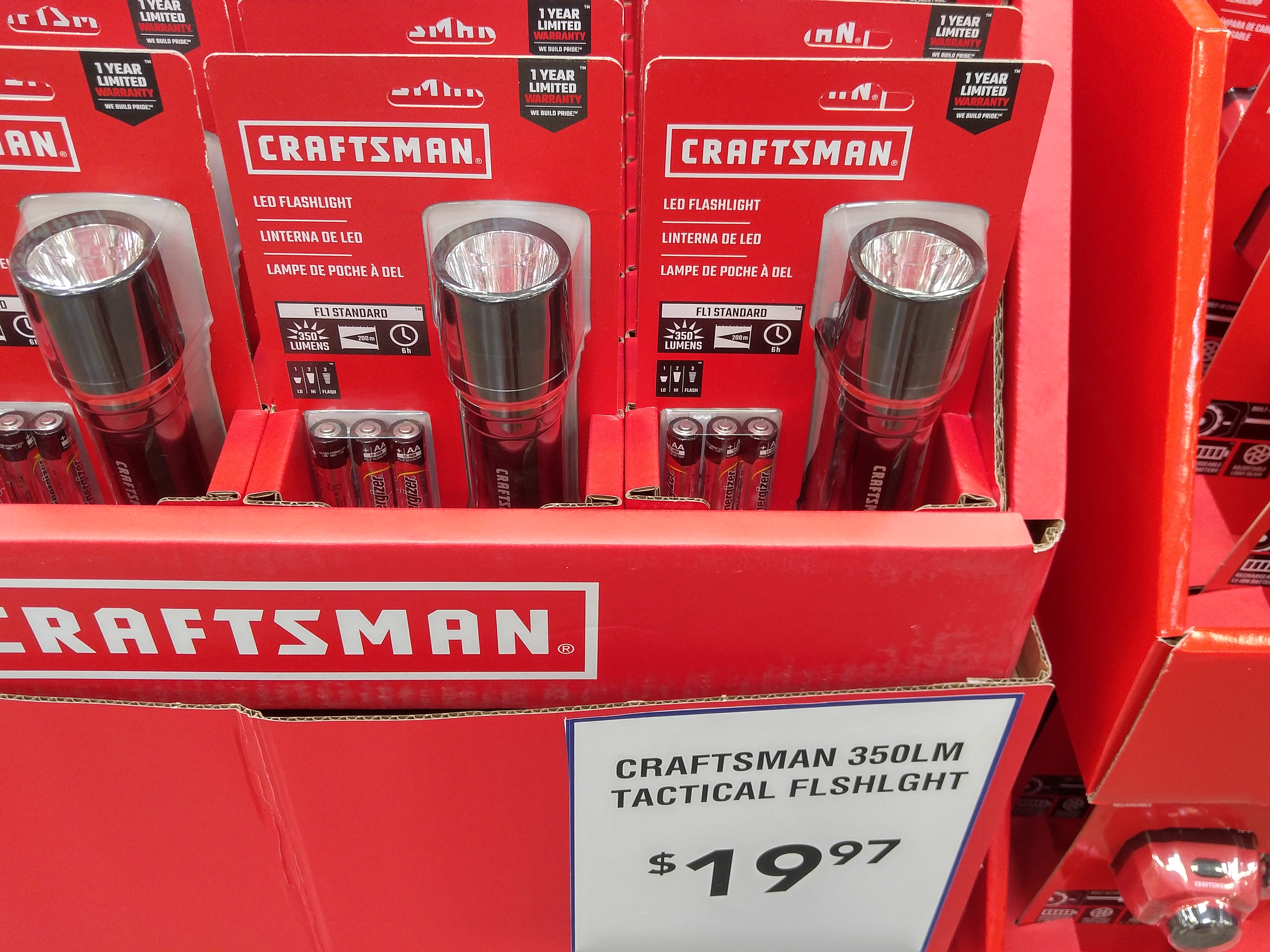 Found Craftsman Tool Box Flashlights At Lowes During Recent Trip Soft Start For Flash Lights They Had A 52 Inch Steel Set And Few The Were Interesting But Nothing Amazing There Three One