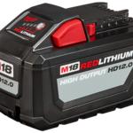 Milwaukee M18 12.0 ah & 6.0 ah Battery Uses 21700 Cells