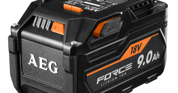 New AEG 18V 9.0Ah FORCE Battery