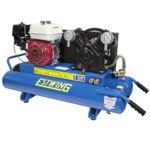 Estwing 10 Gallon 5.5 HP Twin Stack Compressor E10GCOMP