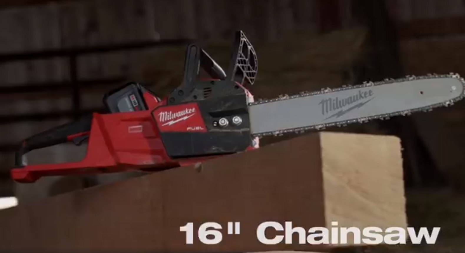 "Milwaukee M18 Fuel 16"" Chainsaw Announced At NPS18 - Tool Craze"