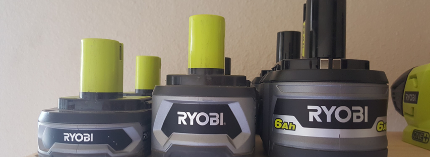 Ryobi 6.0 ah Battery Is Physically Larger Than 4.0 Battery – Find Out Why