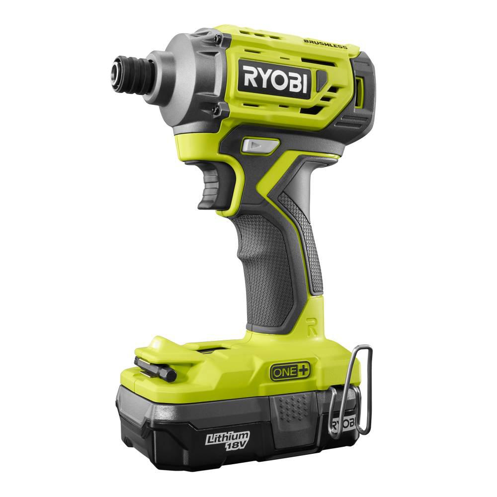 The New Ryobi P239 18v Brushless Impact Driver Is Interesting Because It Boasts 1 800 In Lbs Of Torque And A Single Sd