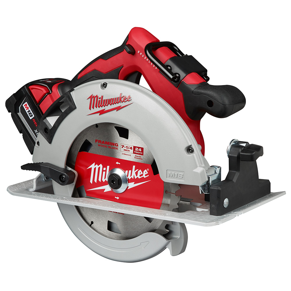Milwaukee M18 Brushless 7 1 4 Circular Saw 2631 22 Is A New Milwaukee Brushless Saw That S Not A Fuel Model Tool Craze