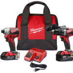 GEN 2 Milwaukee M18 Brushless and Upgraded Compact Brushless Drill / Hammer Drill & Impact Driver