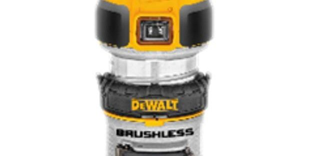 Cordless Dewalt 20V DCW600B Brushless Compact Router Spotted