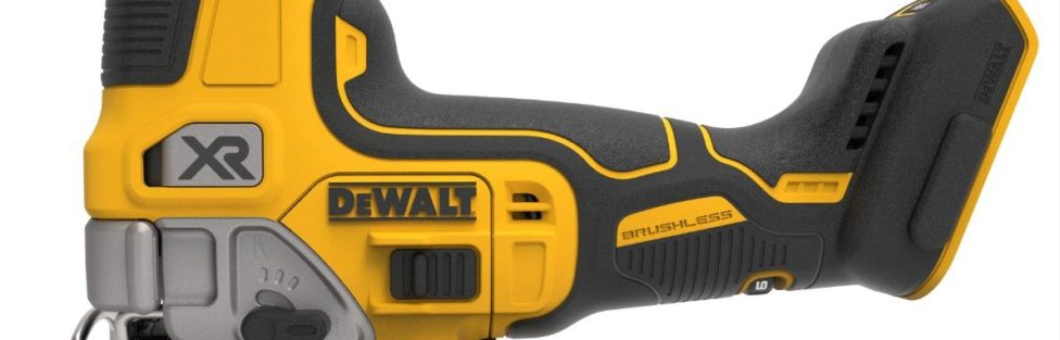 Dewalt 20V XR Brushless Jigsaw in D Handle DCS334 and Barrel Grip DCS335