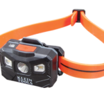 Klein Tools Rechargeable Auto-Off Headlamp 56034 Provides All-Day Illumination
