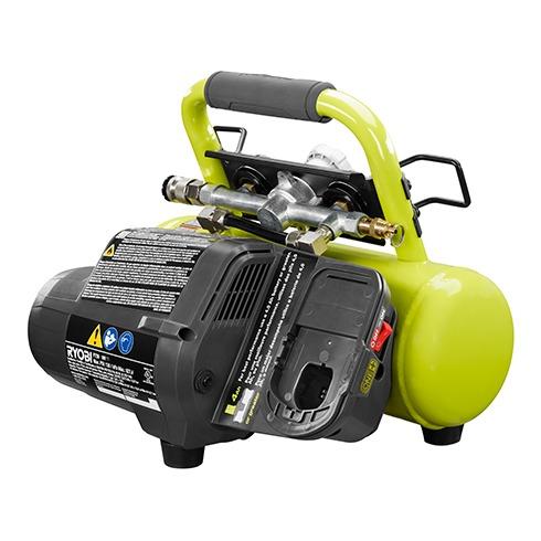 ryobi 18v cordless 1 gallon air compressor p739 tool craze. Black Bedroom Furniture Sets. Home Design Ideas