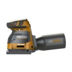 Ridgid R86064B 18v 6 Inch Brushless Octane 1/4 Sheet 3 Speed Sander Spotted