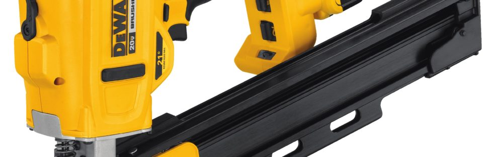 Dewalt 20V 21° Plastic Collated Cordless Framing Nailer DCN21PL