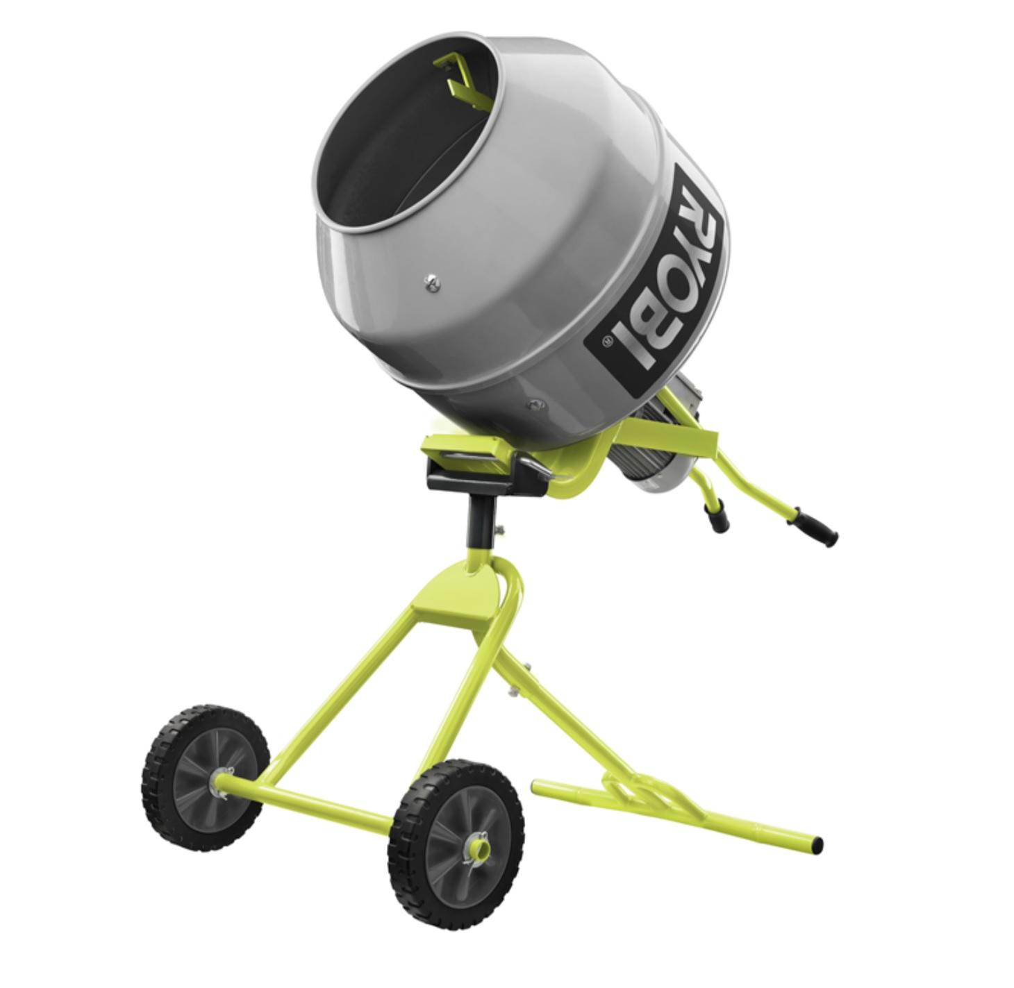 RYOBI RMX001 Portable Cement Mixer - Tool Craze