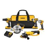 Deal – DEWALT 20V 5 Tool Combo Kit DCK521D2 $259