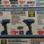 New Harbor Freight Hercules 12v Tools! Drill / Screwdriver / Impact Driver
