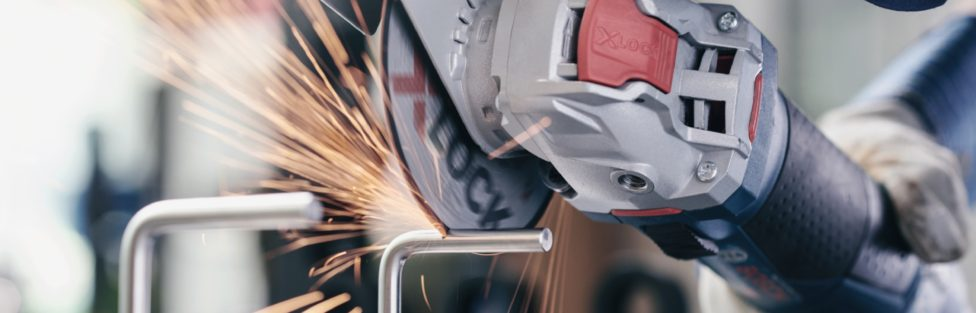 Bosch Creates A New X-Lock Mount Angle Grinder Interface Similar To Starlock Interface For Multitools