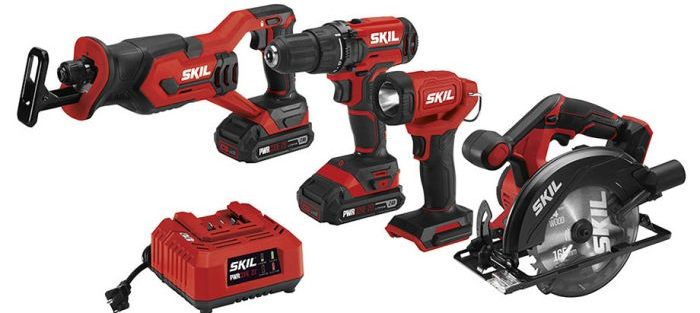 New Skil PWRCORE 20v Max Tools and Batteries