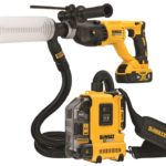 Dewalt 20V Brushless Universal Dust Extractor Kit DWH161 DWH161D1 & Dust Extraction Tube Kit W/ Hose DWH200D