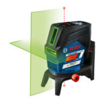 2 New Bosch 12V GCL100-80C Connected Crossline Lasers In Red And Green