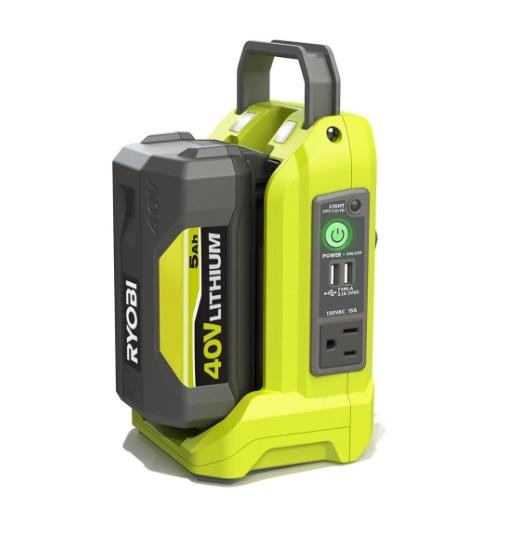 RYOBI RYi300BG 300 Watt 40V Power Source - AKA Battery Powered