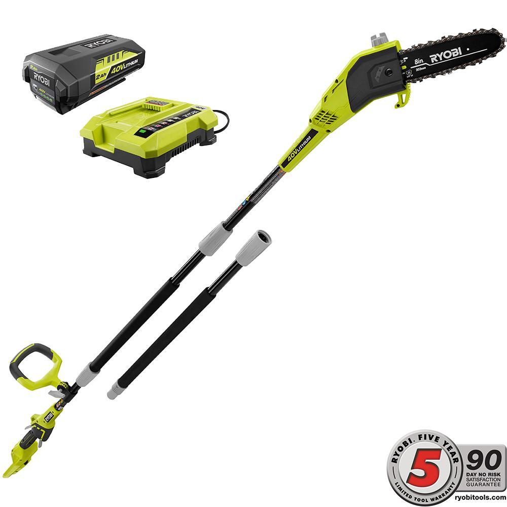 Ryobi RY40540 40V 8 Inch Pole Saw - Tool Craze
