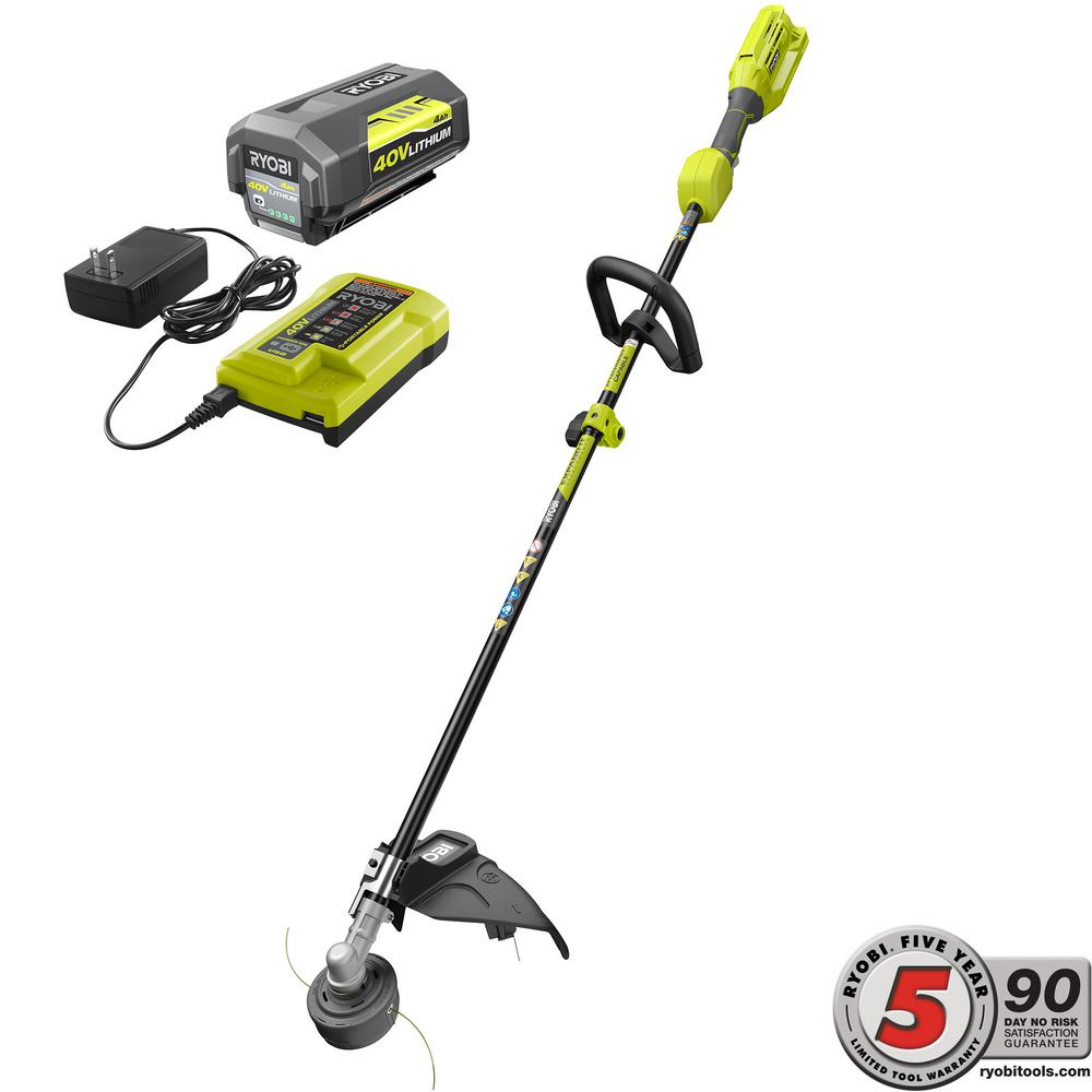 Ryobi RY40250 40V Attachment Capable String Trimmer - Tool Craze