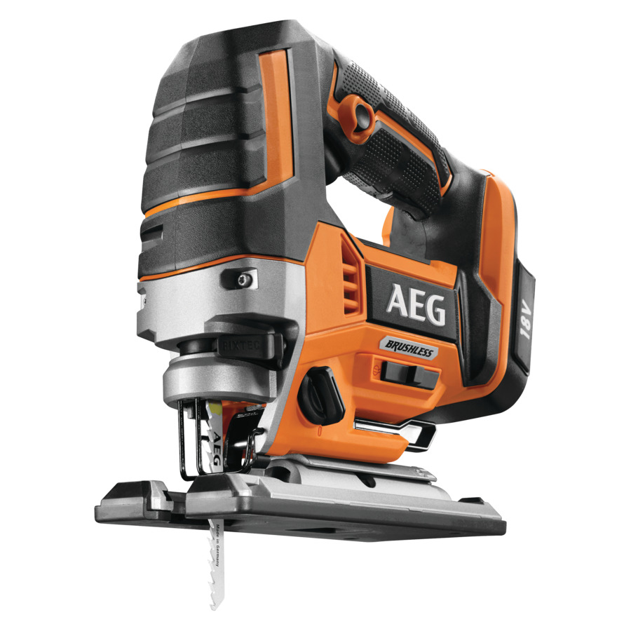 AEG BST18BLX 18v Brushless Jigsaw Spotted