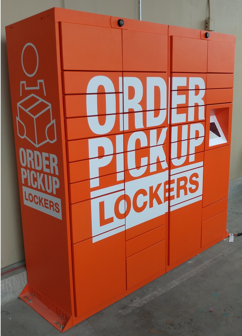 Home Depot Order Pick Up Lockers Are Easier And Faster Than