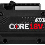 Bosch Core18V 8.0 Ah Battery is Officially Announced