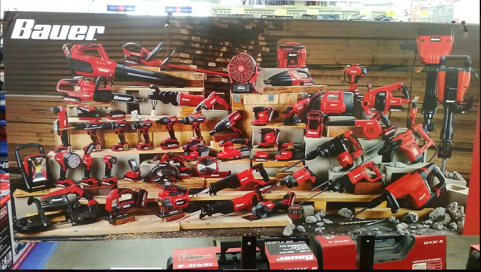 Harbor Freight Releases Photo Of Many New Bauer Cordless And