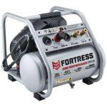 Fortress 4 Gallon 200 PSI Oil Free Air Compressor