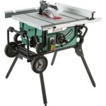 Grizzly G0870 10″ 2 HP 115V Portable Table Saw with Roller Stand Brings Fierce Competition Against Dewalt
