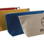 Klein Tools Large Canvas Zipper Bags Provide Convenient Storage