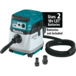 Makita XCV16ZX X2 18V 36V Brushless 4 Gallon HEPA Filter Dry Dust Extractor W/ AWS