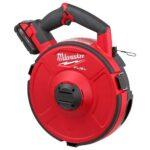 Milwaukee M18 Fuel Angler Pulling Fish Tape 2873A-22 & 2873B-22