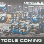 More New Hercules 20V Cordless Tools Announced