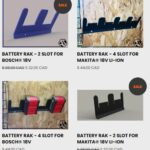 Rumour Industries Wall Mountable Battery RAKs