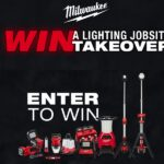 Milwaukee Launches Contest – Win a Lighting Jobsite TAKEOVER!