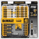 Deal – DEWALT 40pc Screwdriver Bit Set Impact Ready FlexTorq 40-Piece $14.64