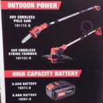 Bauer 5.0 Ah and 8.0 Ah Batteries And Brushless Tools Coming Soon