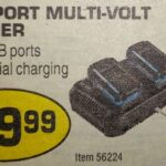 Hercules 20V / 12V Simultaneous Dual Port Multi-Volt Charger Spotted