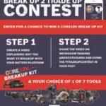 Bosch Trade Up Contest Giveaway