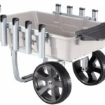 Deal – Gorilla Carts GCO-5FSH Poly Bed Fish & Marine Cart 200 lb Capacity $80