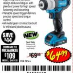 """Hercules 12v Compact 3/8"""" Drive Impact Wrench Spotted"""