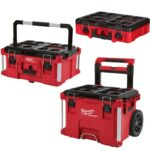 Deal – Milwaukee Rolling Tool Box, Large Tool Box & Tool Case w/Foam Kit $199.99