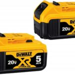 Deal – Dewalt 20V 5.0ah Battery 2 Pack DCB205-2 $99.99